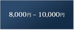 価格帯で探す 8,000円~10,000円