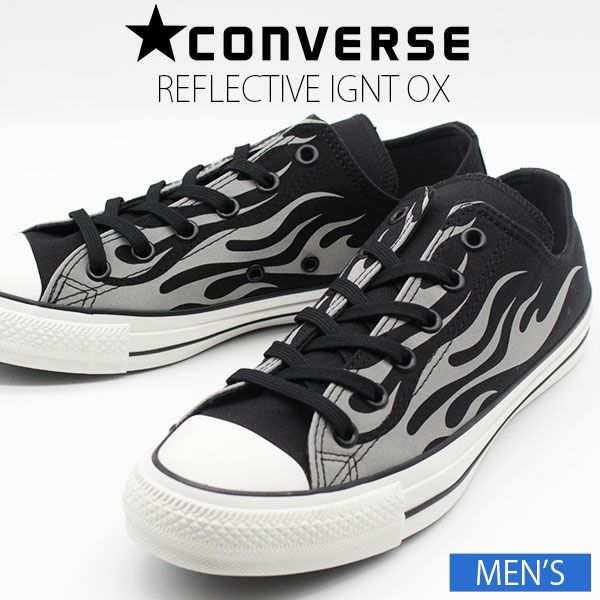 CONVERSE ALL STAR 100 REFLECTIVE IGNT OX スニーカー イグナイト